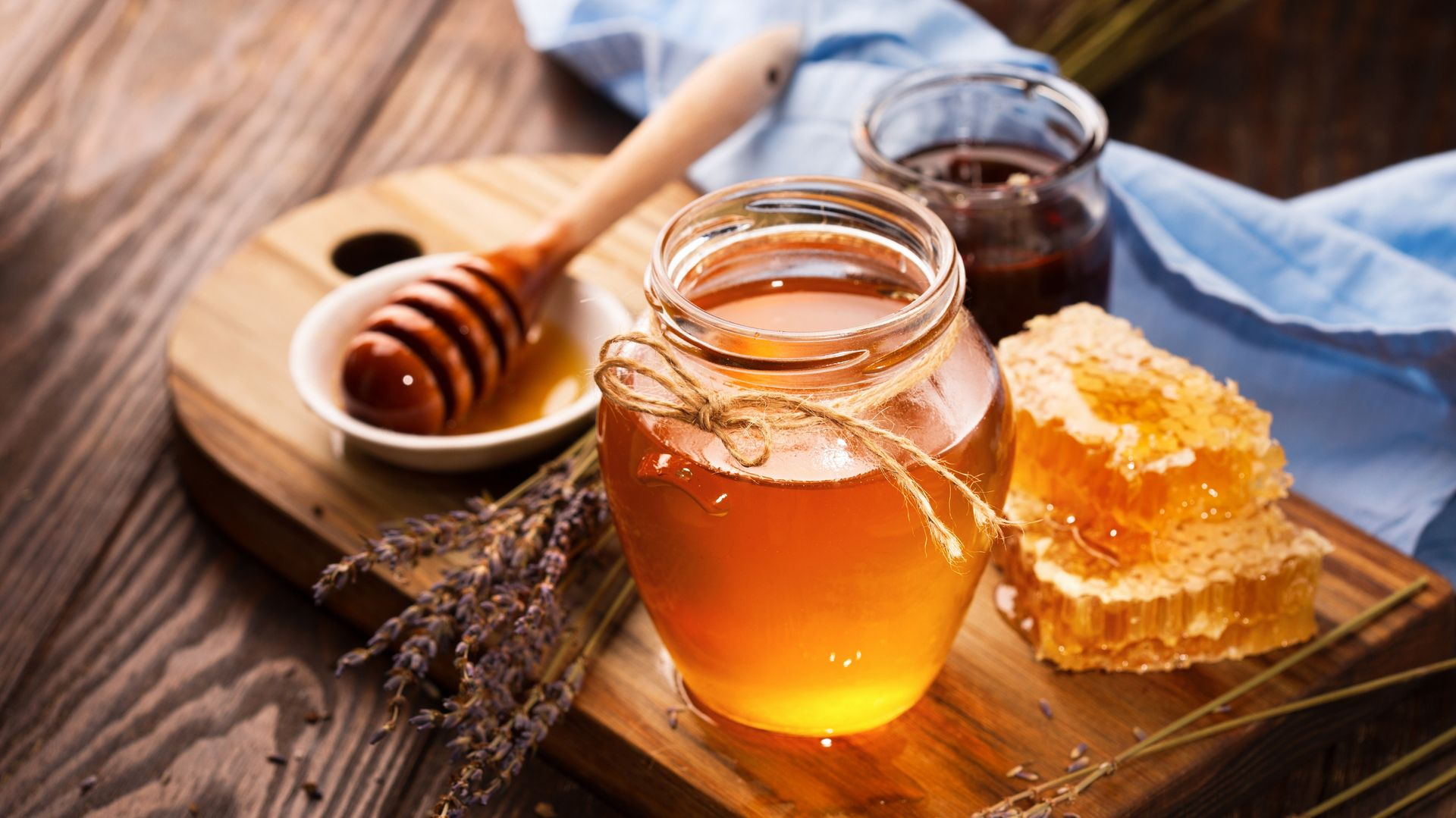 Honey from our hives